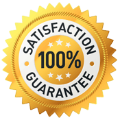 100% Satisfaction Guarantee.